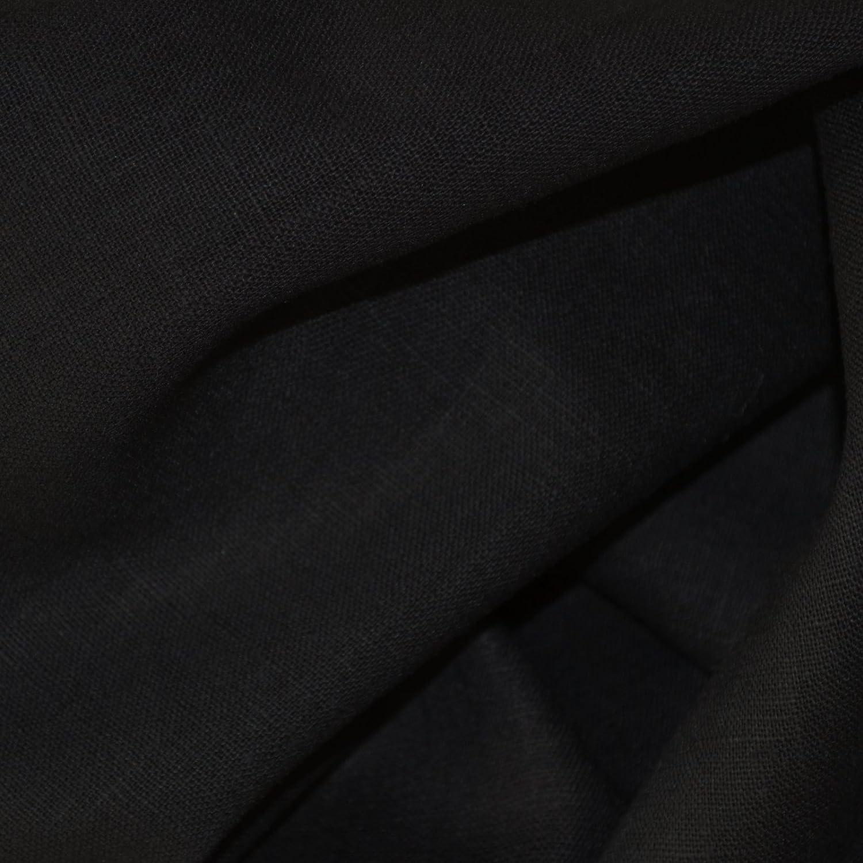 Amazon.com: 100% tela de lino. – Jet Black | Calidad ...