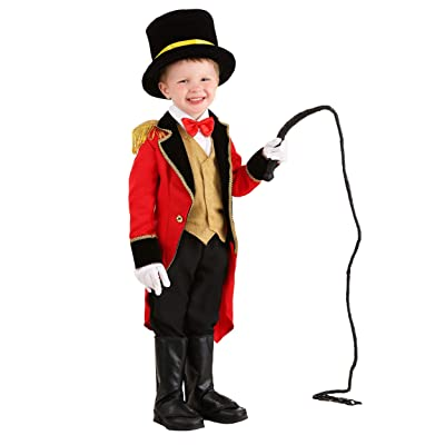 Ringmaster Costume Toddler Deluxe Toddler Circus Costume: Clothing