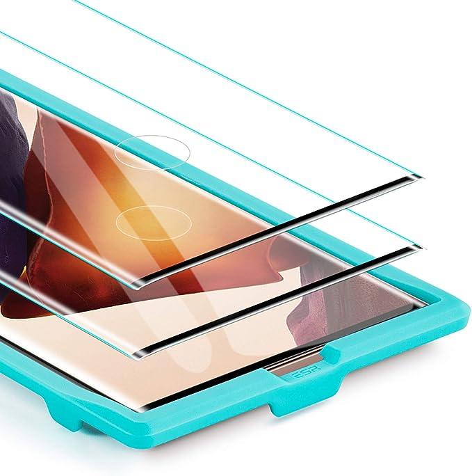 9H H/ärte Carantee Panzerglas Schutzfolie f/ür Samsung Galaxy Note 20 Ultra Anti-/Öl HD Klar Fingerabdruck 3D Vollst/ändige Abdeckung Displayschutzfolie f/ür Samsung Note 20 Ultra 2 St/ück
