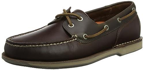 new product 402d3 2578c Rockport Perth Tan, Scarpe da Barca Uomo: Amazon.it: Scarpe ...