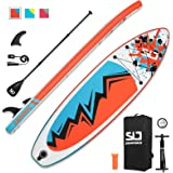 """Swonder Inflatable Stand Up Paddle Board, 32"""" Wide Ultra Steady and Super Light-Weigh (17.2lbs) Board, Full Premium SUP…"""