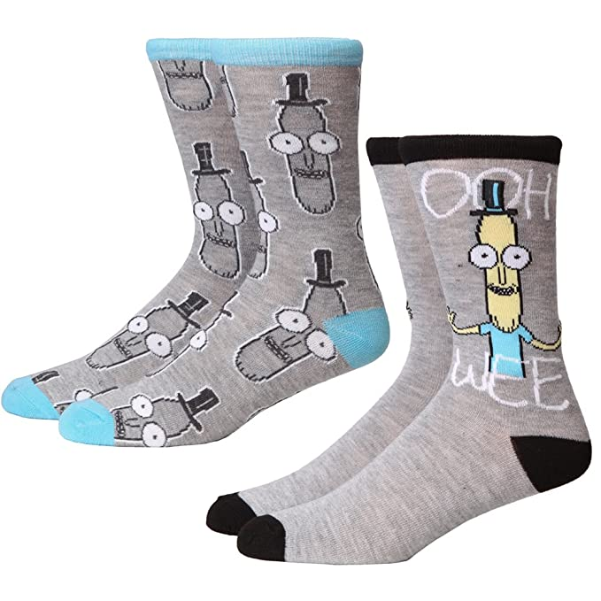 Calcetines Grises Mr. Poopybutthole Oohwee