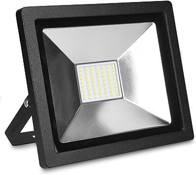 kwmobile foco proyector LED de exteriores de 30W - reflector de ...