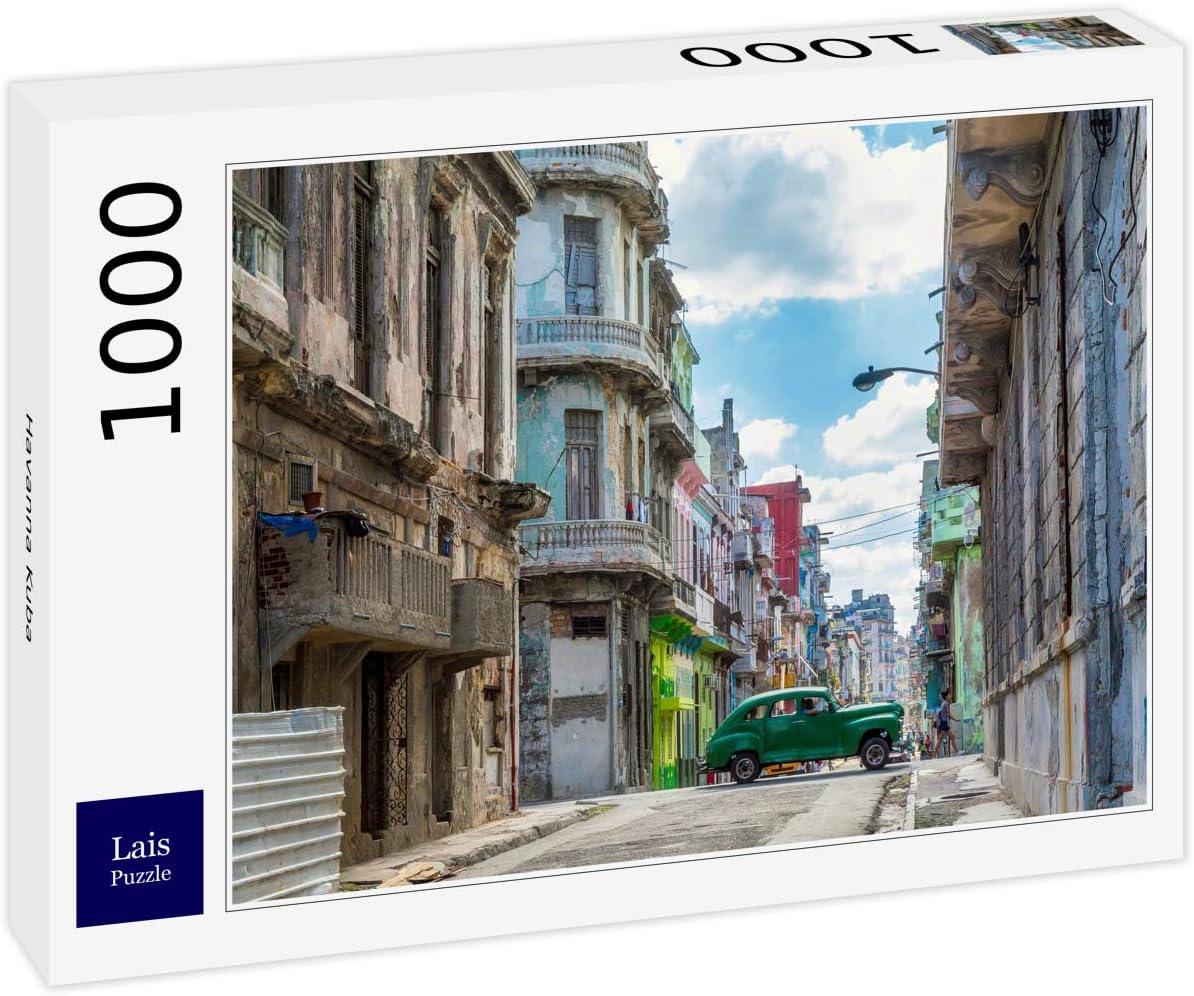 Lais Puzzle La Habana, Cuba 1000 Piezas: Amazon.es: Juguetes y juegos