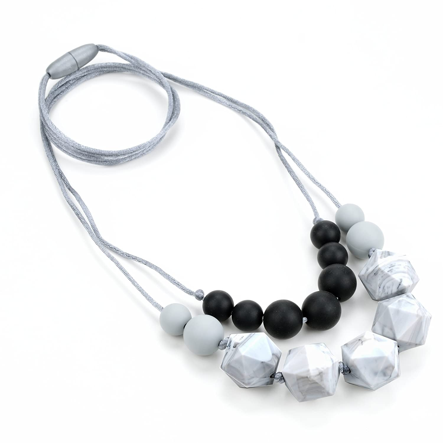 Lofca Baby Teething Necklace for Mom to Wear-Great Teether Toy