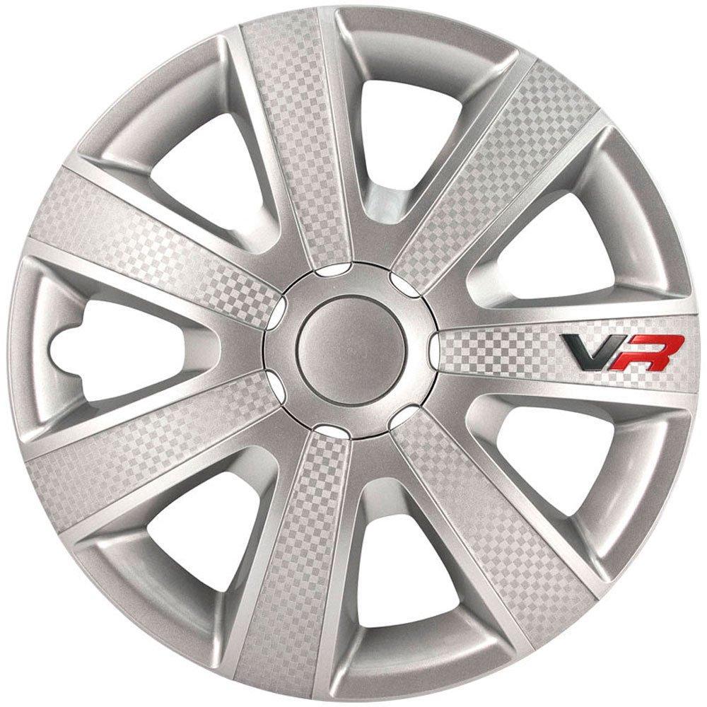 Jeu d'enjoliveurs VR 14-inch noir/look-carboné /logo Kuan Tong Industrial PP5154B