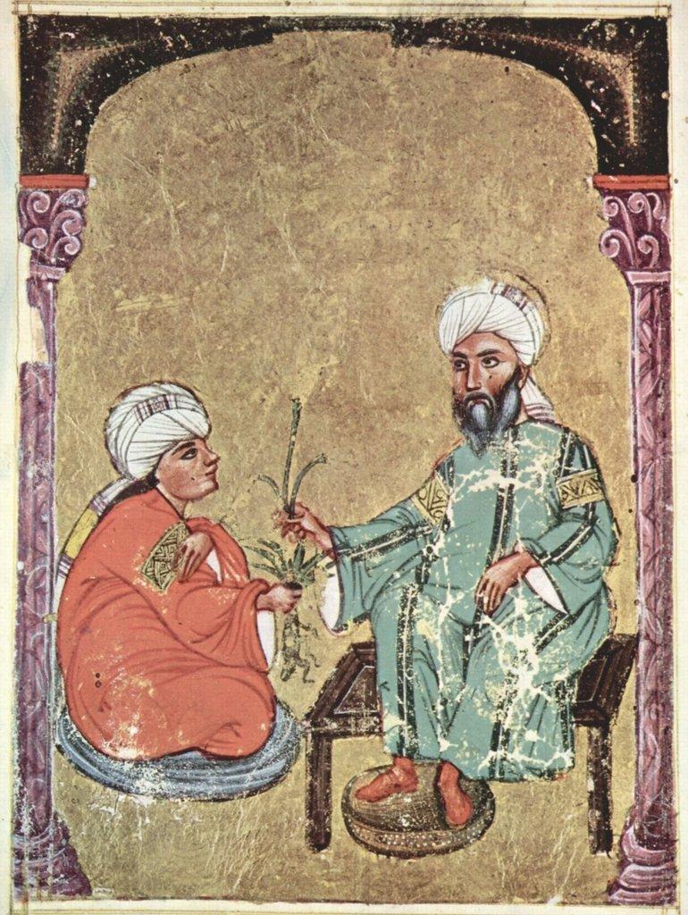 Lais Puzzle Arabischer Maler des Kräuterbuchs des Dioskurides - De Materia Medica des Dioskurides 2000 Teile