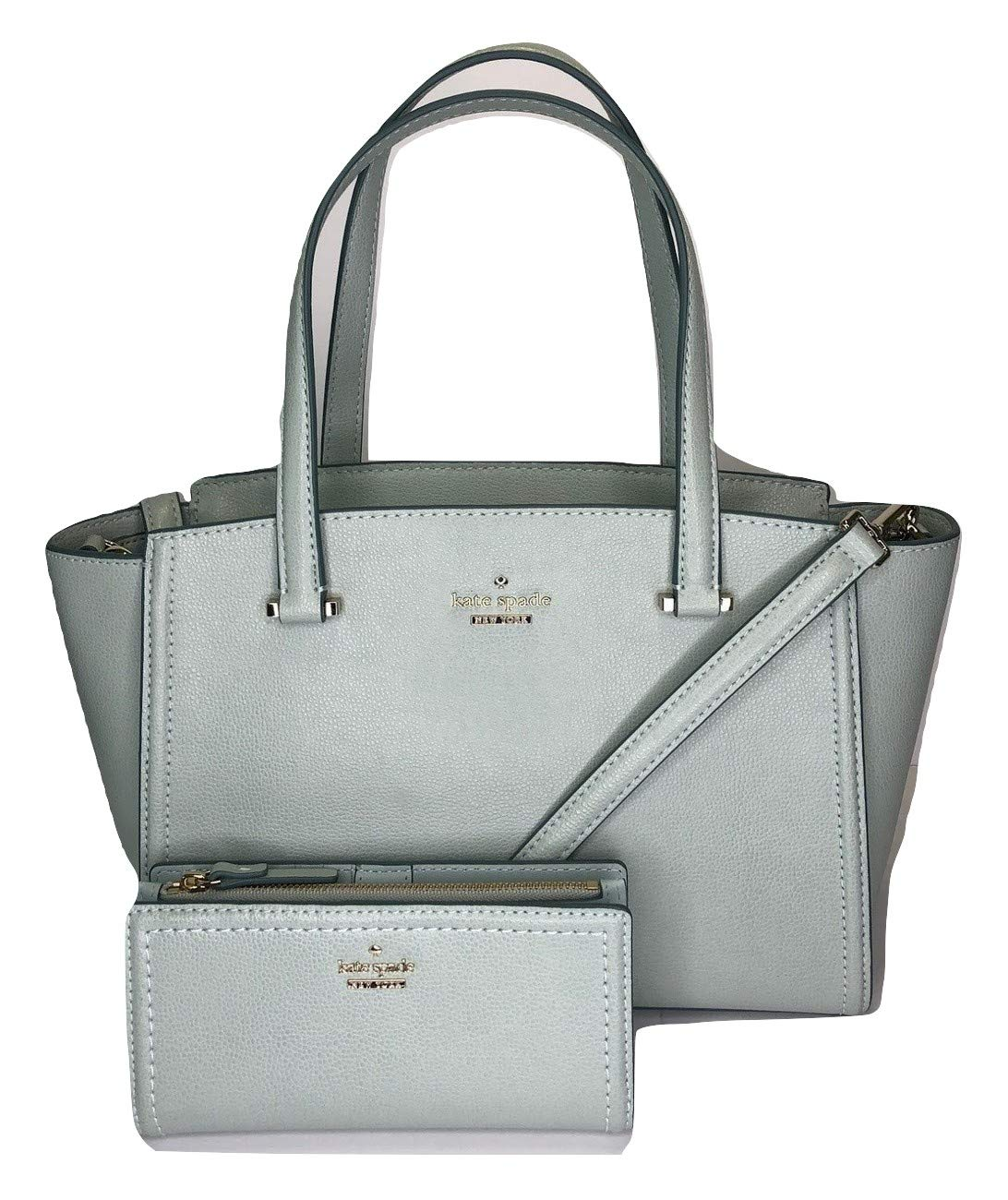 Kate Spade New York Patterson Drive Small Geraldine bundled with matching Kate Spade New York Patterson Drive Braylon Wallet (Misty Mist)