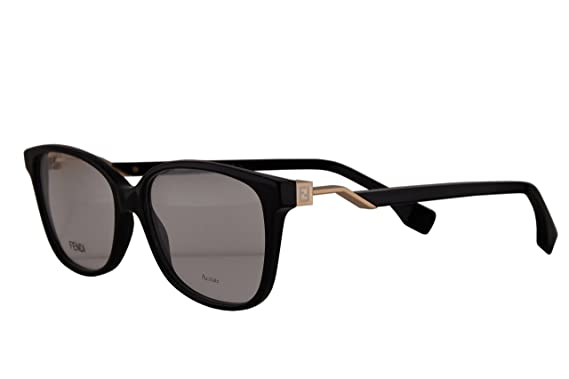 746c8d6a360a Fendi FF0232 Eyeglasses 53-15-140 Black w Demo Clear Lens 807 FF 0232   Amazon.co.uk  Clothing