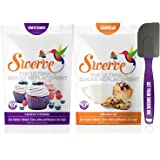 Swerve Sweetener Bakers Bundle (12 Ounce Confectioners & Granular + Spatula): The Ultimate Sugar Replacement