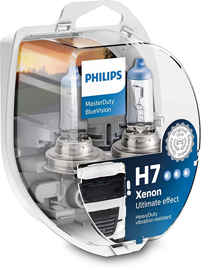 Philips Masterduty Bluevision 24v H7 Scheinwerferlampe Auto