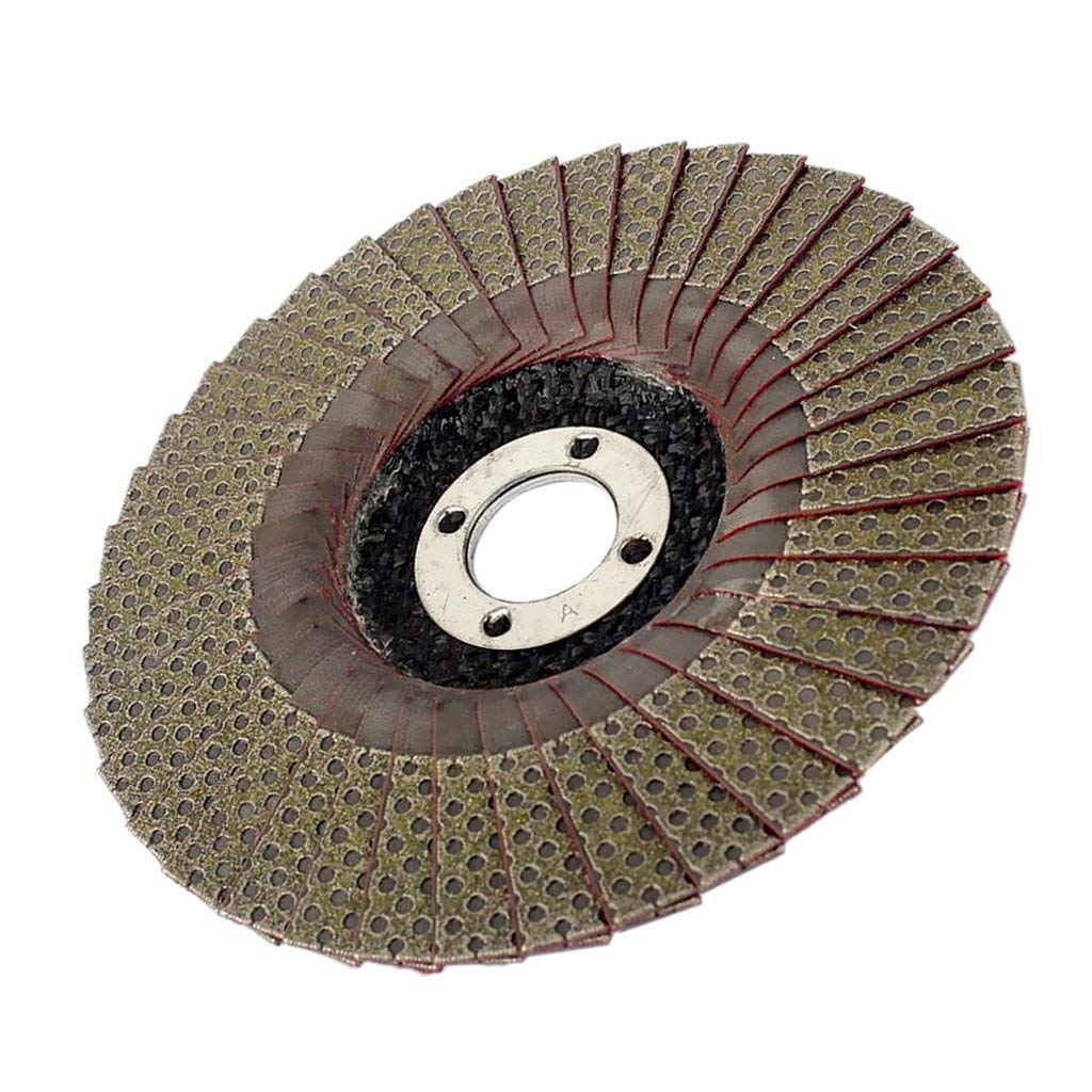 125mm 120 grit Tubayia Heavy Duty Diamant Schleifscheibe Disc Schleifrad f/ür Granit Marmor Keramik Porzellan Glas