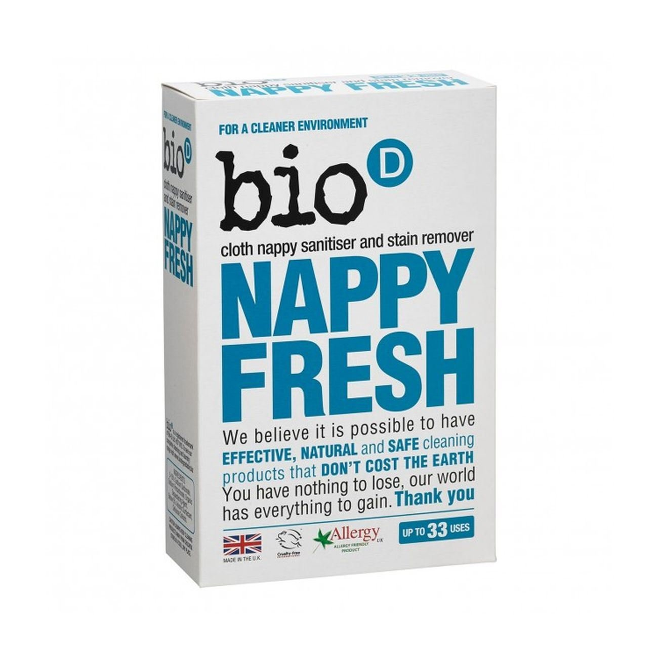 Nappy Fresh 500g: Bio D