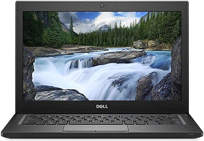 "Dell Latitude 7290 Intel Core i7-8650U X4 1.9GHz 8GB 256GB SSD 12.5"" Win10, Black"