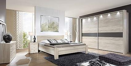 Amazon Com German Furniture Warehouse Dona Modern Beech Finish