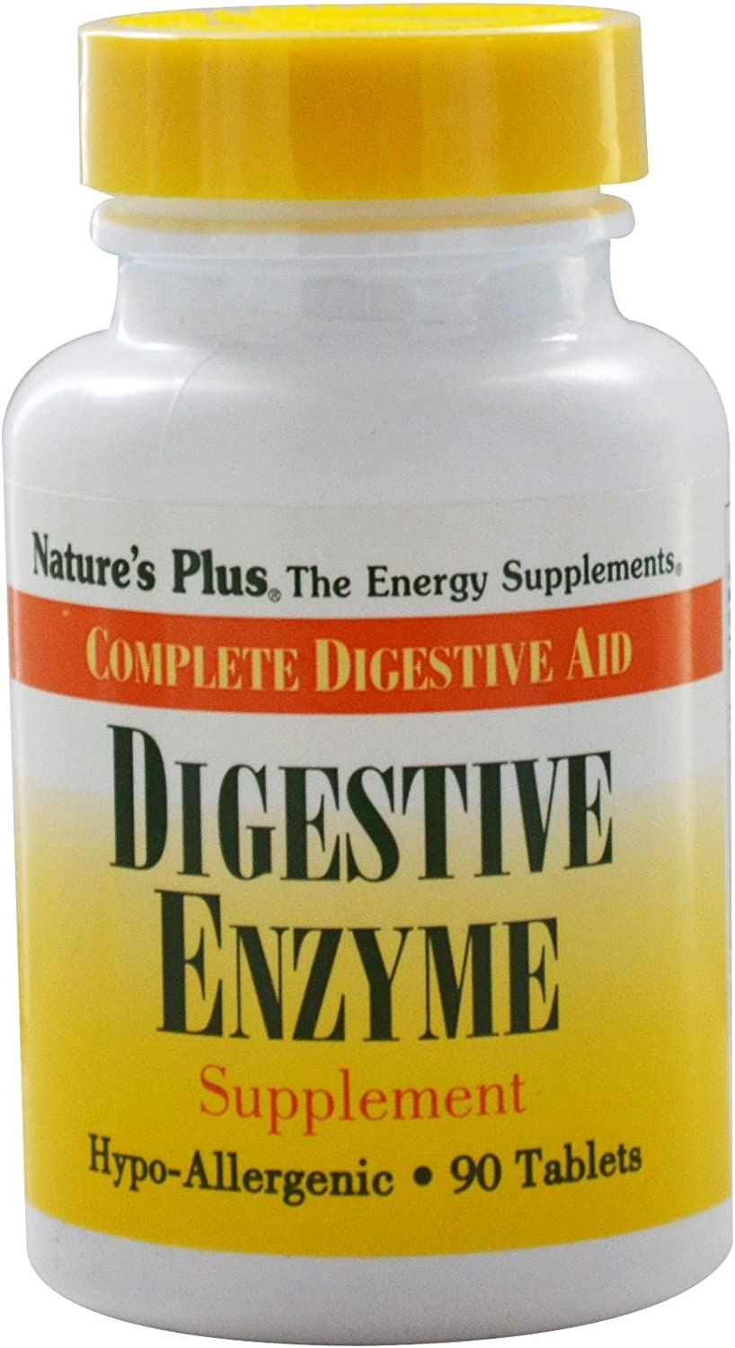 Nature s Plus Digestive Enzyme – 90 Tablets