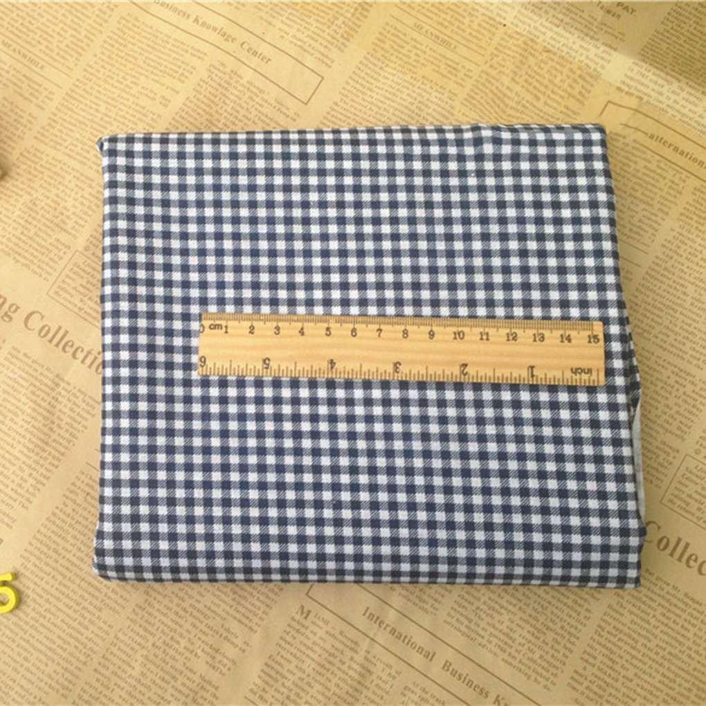 Lorsoul 7PCS / Set 25 * 25 cm Mixta de impresión Florales Telas de Patchwork Materiales de Costura Que acolcha álbum de Recortes de Tela de algodón