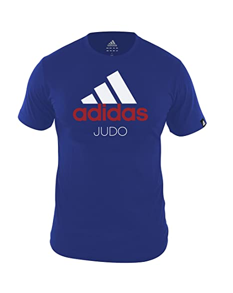 t shirt adidas blu