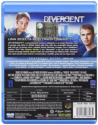 Divergent (SE) [Italia] [Blu-ray]: Amazon.es: Theo James, Ashley Judd, Kate Winslet, Shailene Woodley, Neil Burger, Theo James, Ashley Judd: Cine y Series TV