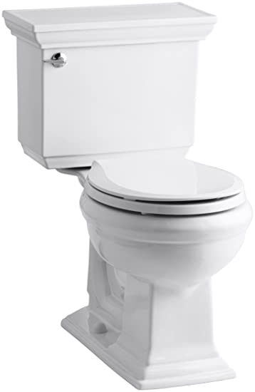 round front toilet dimensions. Kohler K 3933 0 Memoirs Comfort Height Two Piece Round Front Toilet with