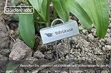GardenMate 25-Pack Weatherproof Mini Metal Plant