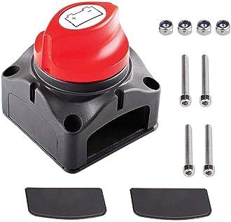 KSTE Lat/ón negativo desconexi/ón de la bater/ía del coche cort/ó el Maestro cuchillo vertical interruptor de la bater/ía
