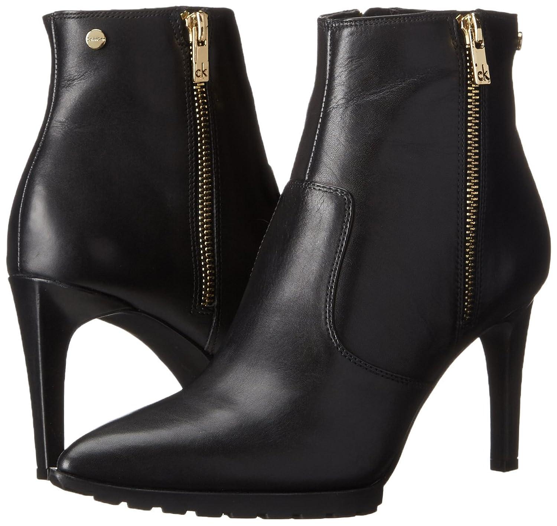 Womens Boots Calvin Klein Bionda Black Leather