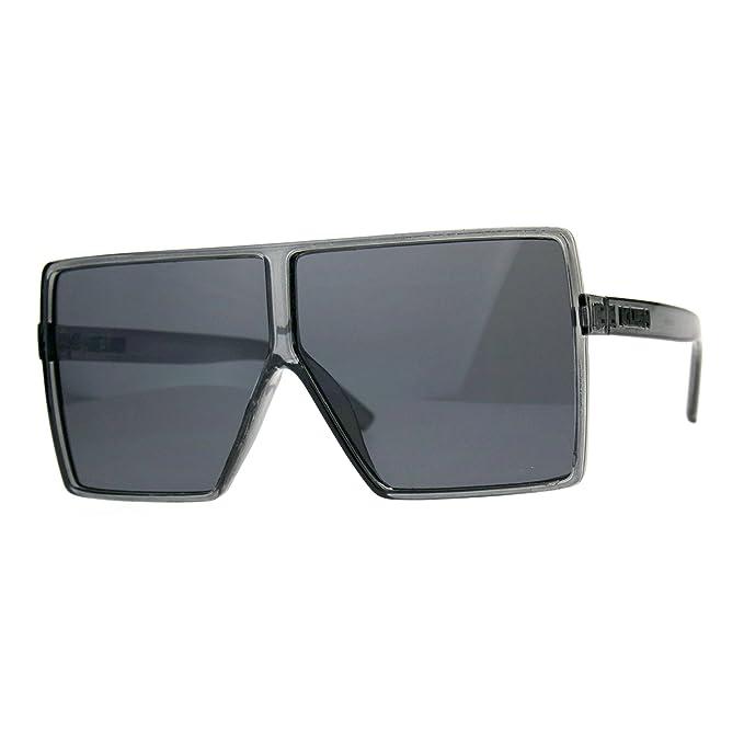 Amazon.com: Kush anteojos de sol extragrande parte superior ...