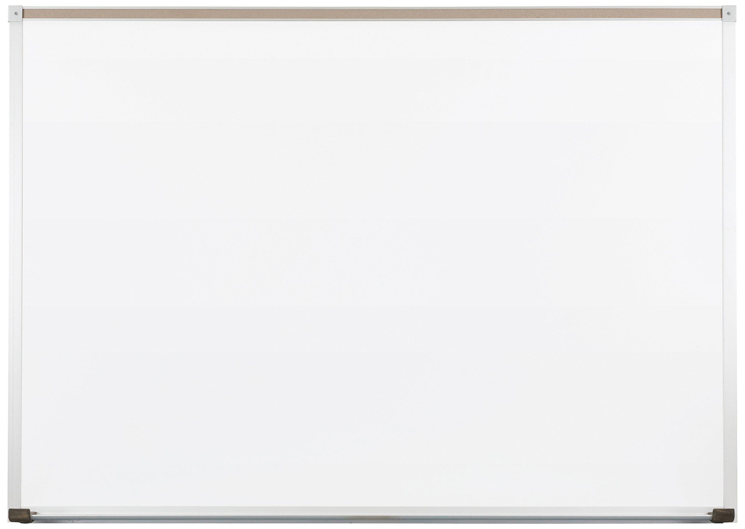 Best-Rite 212AH Deluxe Dura-Rite Dry Erase Whiteboard, Aluminum Trim & Maprail, 4 x 8 Feet by Best-Rite