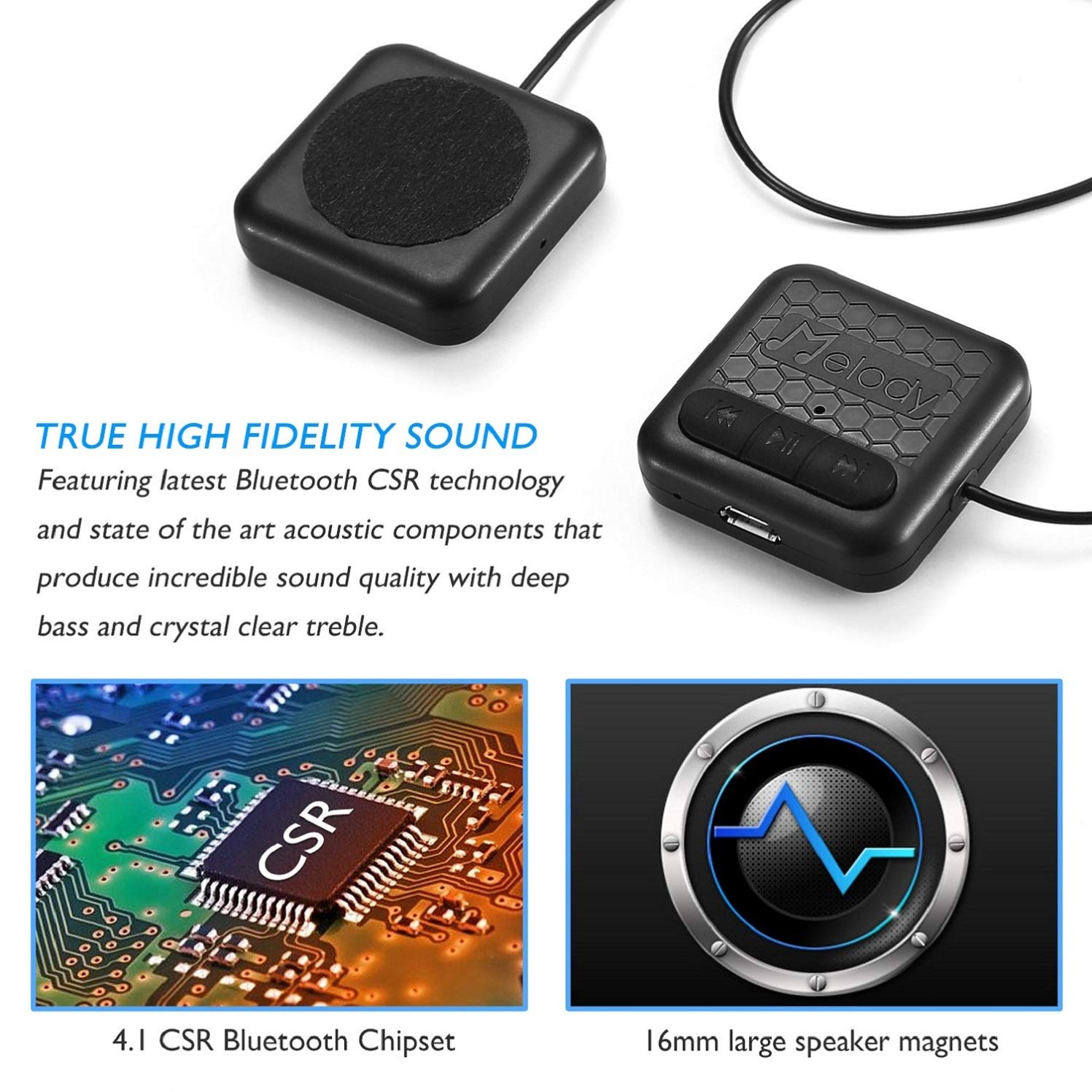 Pumice Bluetooth Beanie Hat Stylish Knitted Music Left Headphone Speaker Wiring Cap With Hd Stereo Headphones Earphones Headset Mic Hands Free Talking For