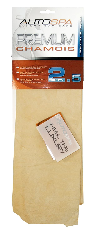 Carrand 40201AS Genuine Full Skin Chamois - 2.5 sq ft Carrand Co. Inc.