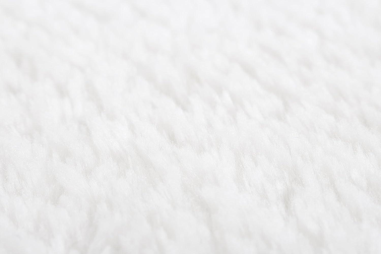 Andiamo Teppich Lambskin, weiß, weiß, weiß, Fellimitat, pflegeleicht, Kunstfaser, Farbe Weiß, Größe 165 x 230 cm B01LYZI7SS Schlüsselhaken 7be6d9