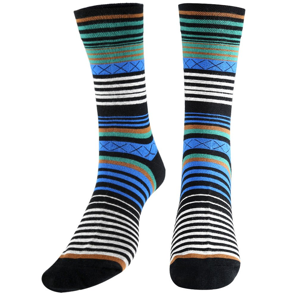 Tselected Women's Classic Dress Socks Colorful Warm Funny Casual Crew Vintage Style US Size 6-11 5 Pack by Tselected (Image #3)