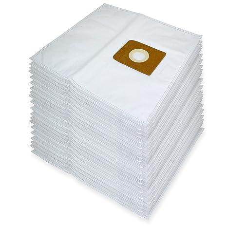 Spares2go gamuza de microfibra bolsas de papel para aspiradora Nilfisk GM Serie (Pack de 20)