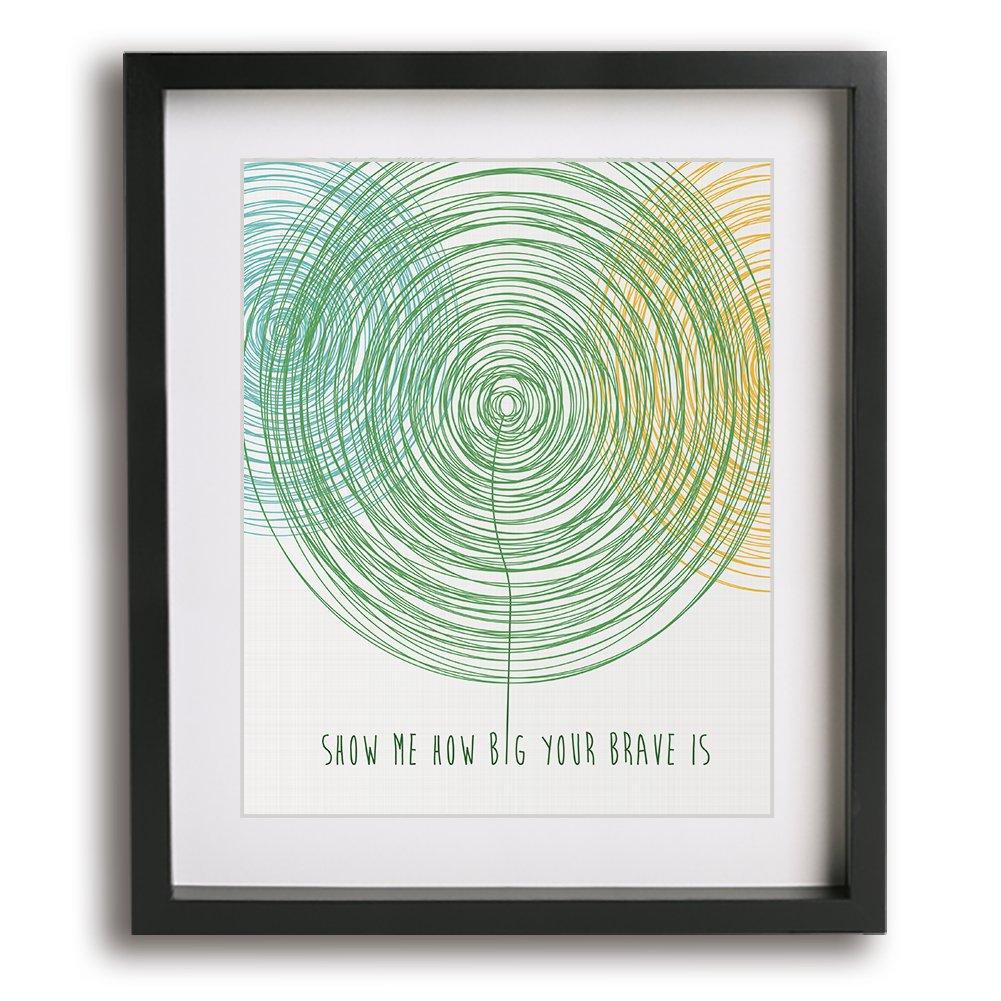 Brave | Sara Bareilles inspired song lyric art print - gift idea for girls