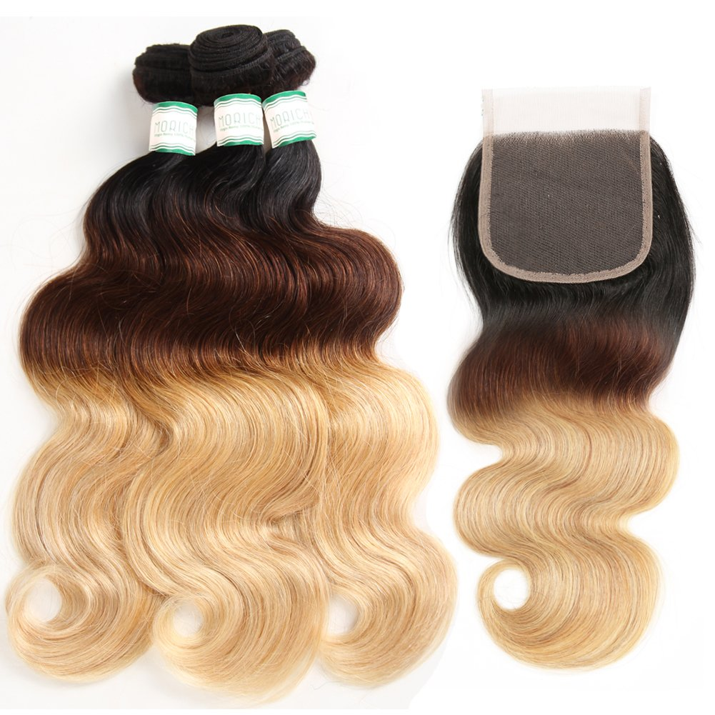 Amazon Morichy 8a Ombre Peruvian Body Wave 3 Bundles With Lace