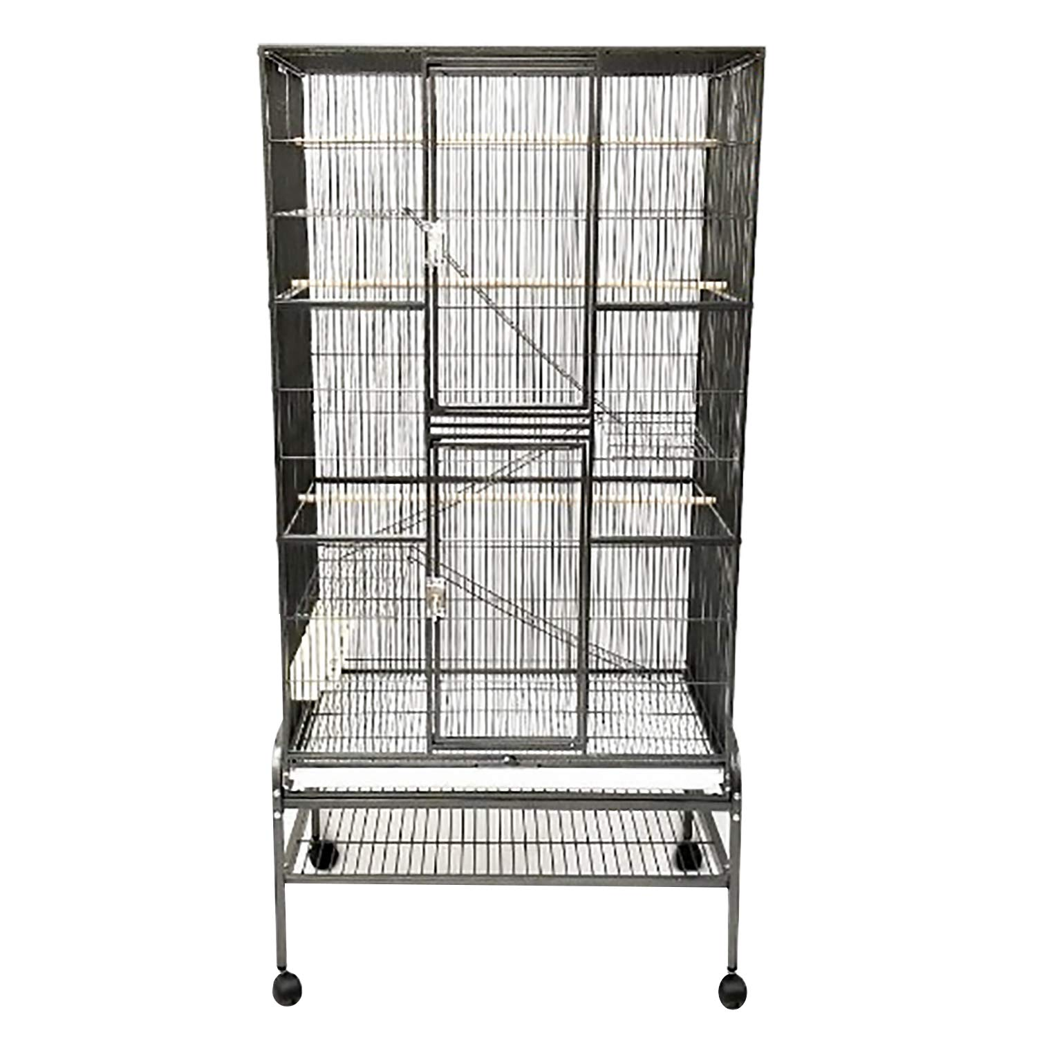 Exotic Nutrition Congo Cage - Durable 68'' Tall Cage - for Sugar Gliders, Squirrels, Marmosets & Other Small Pets by Exotic Nutrition