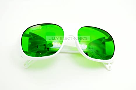 400nm 1200nm wide spectrum photons e light protective safty goggles