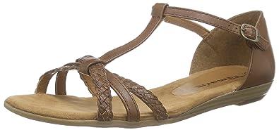 TAMARIS Sandale geflochten braun KGdOxP5Avx