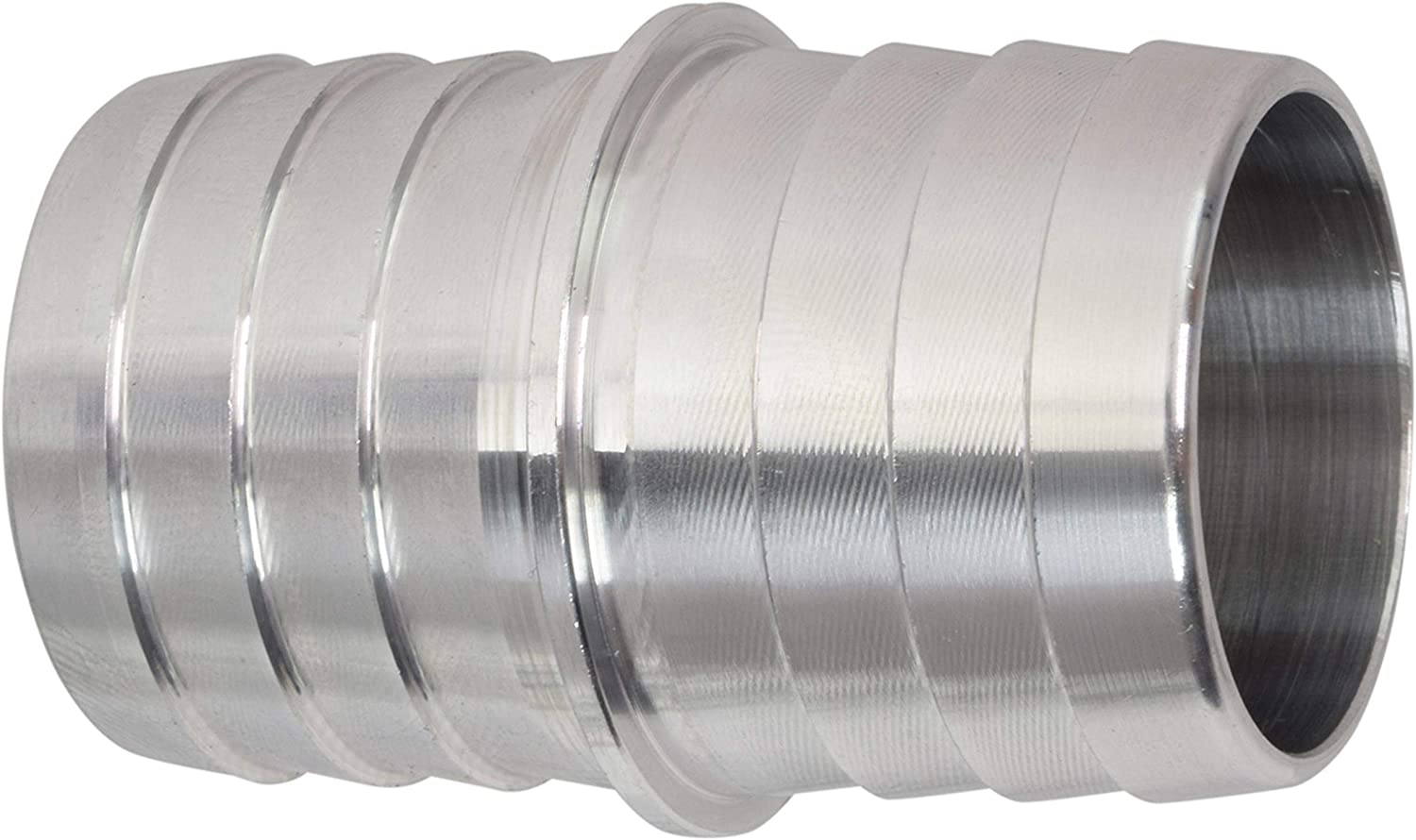 DERPIPE Stainless Steel 1-1//4 Hose Barb Union Coupling Fitting Straight Splice Extend tubing Fitting