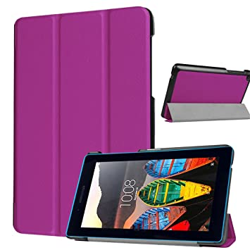 premium selection 5afa1 58c6a Amazon.com: Luffytops Lenovo Tab3-710 Case Ultra Slim-Fit Cover ...