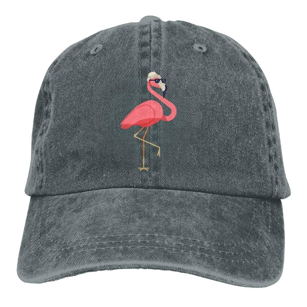 Funny Flamingo in Sun Glasses and Hat Printed Baseball Caps Cowboy Hats Sun  Hats at Amazon Men s Clothing store  6bc075946b0