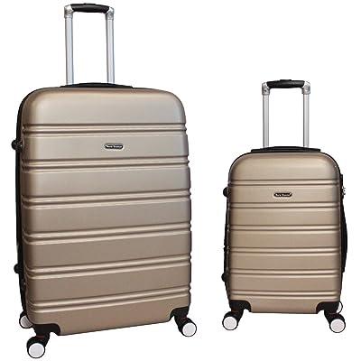 World Traveler Bristol Lightweight Hs Expandable Luggage Set, Champagne
