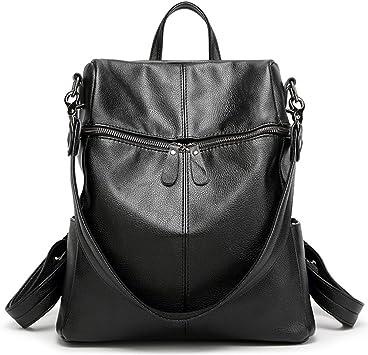 PU Leather Shoulder Bag,Goldedn Fish Fashion Backpack,Portable Travel School Rucksack,Satchel with Top Handle