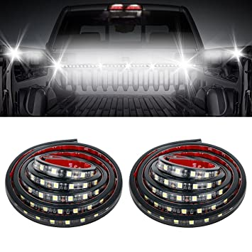Amazon.com: Audew 2Pcs 60'' Truck Bed Light Strips Unloading Cargo on gas tank for house, wire diagram for house, generator for house, front door for house, cooling fan for house, flywheel for house, moulding for house,