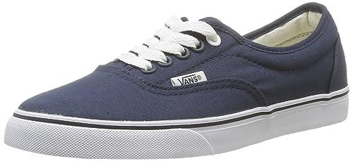 01dcfc2575b638 Vans LPE Round Toe Canvas Sneakers Navy True White 9.5 B(M) US ...