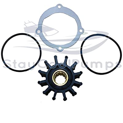 StayCoolPumps Impeller Kit Replaces Johnson 09-812B-1 Jabsco 13554-0001-P Sierra 18-3306: Sports & Outdoors [5Bkhe2000251]