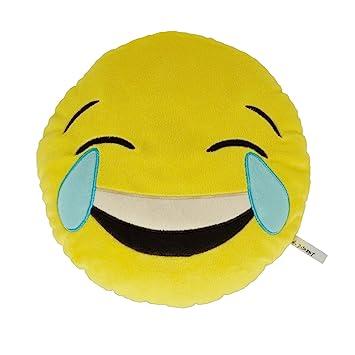 Necknapperz - Peluche de Emoji LOL Que llora de Risa (Amarillo)