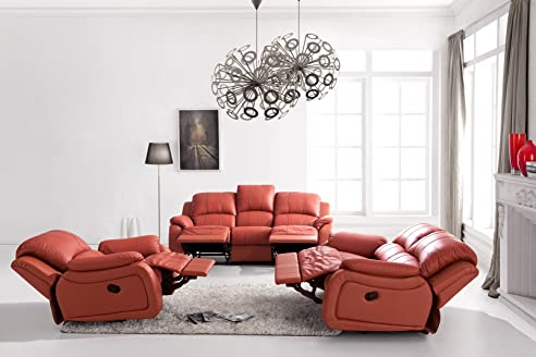Voll-Leder-Relax Fernsehsofas-Polstermöbel-Sessel Fernsehsessel ...