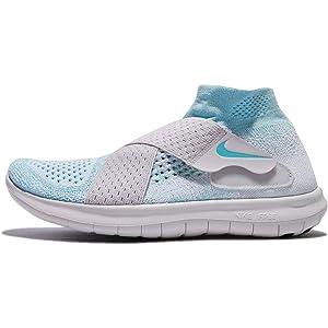 b13e06c47822 Nike Free RN Motion Flyknit 2017 Women Glacier Blue Vast Grey Pure Platinum  880846